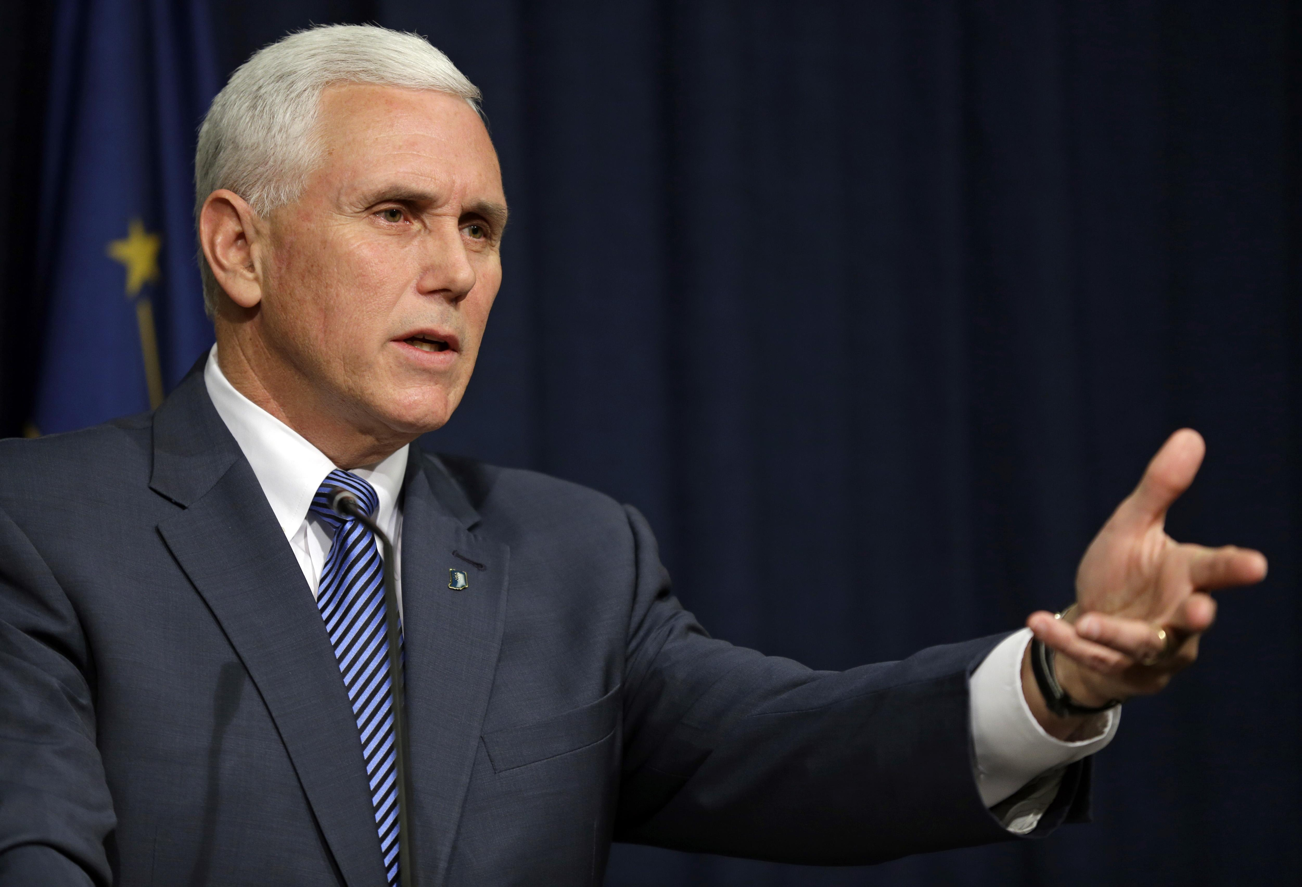 governor mike pence continues - HD4543×2883
