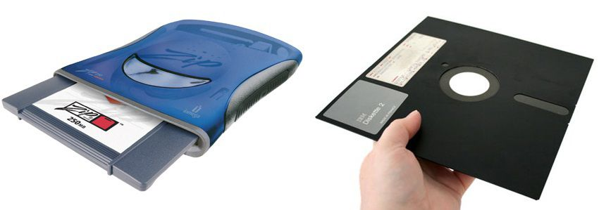 Portable Data Storage : The evolution of portable data storage devices