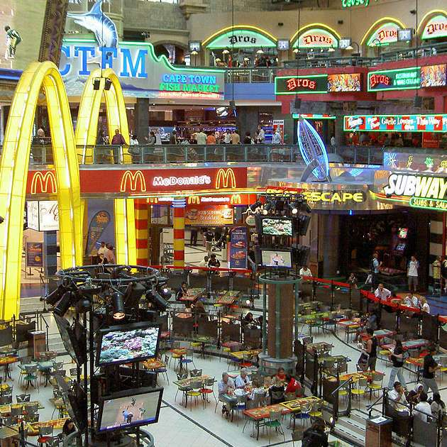 Square One Mall Food Court Restaurants