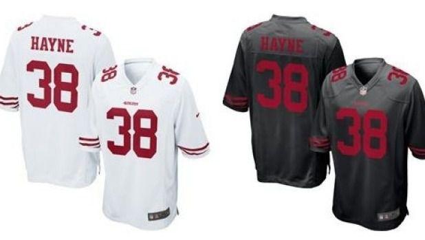 San Francisco 49ers Jarryd Hayne WOMEN Jerseys