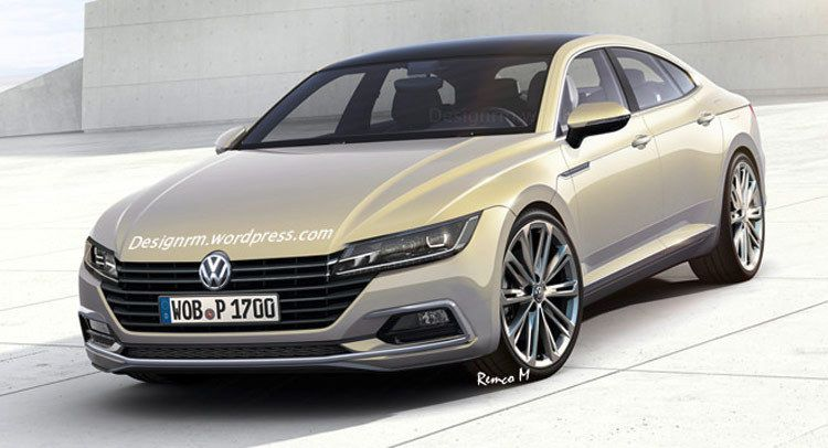 carscoops another 2017 volkswagen cc modeled after sport coupe concept. Black Bedroom Furniture Sets. Home Design Ideas