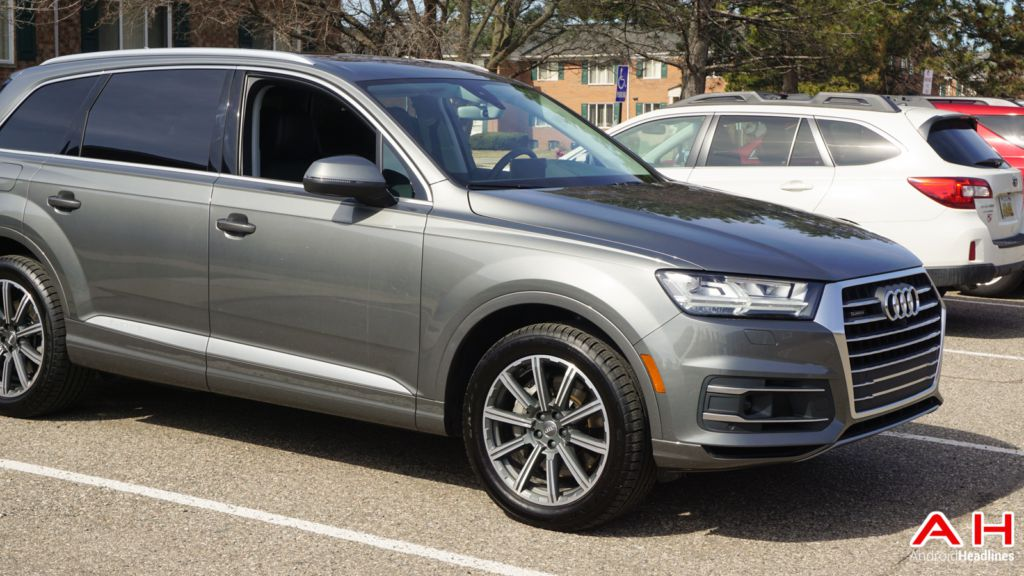 hands on android auto in the 2017 audi q7. Black Bedroom Furniture Sets. Home Design Ideas