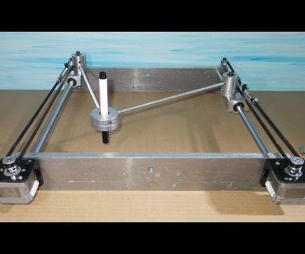 Homemade Scara Robot Arm Plotter Robotic Draw DIY Frame