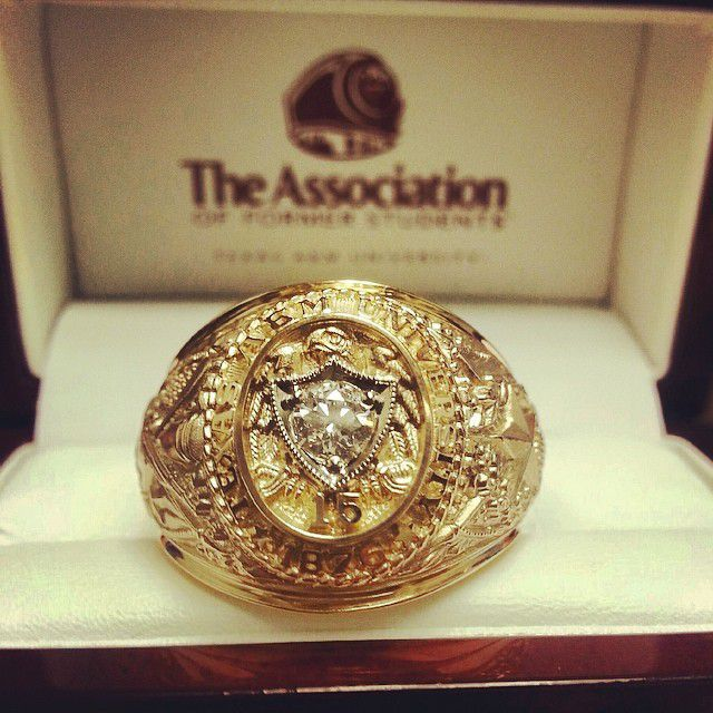 Aggie Ring Antique Or Natural