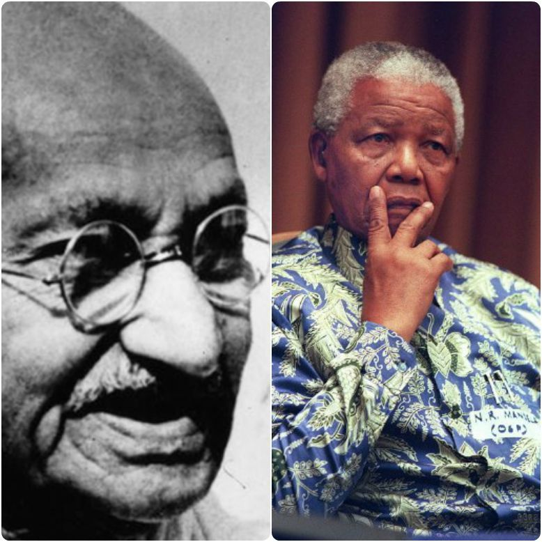 mandela vs gandhi This lesson introduces students to martin luther king, jr's philosophy of nonviolence and the teachings of mohandas k gandhi that of nelson mandela.