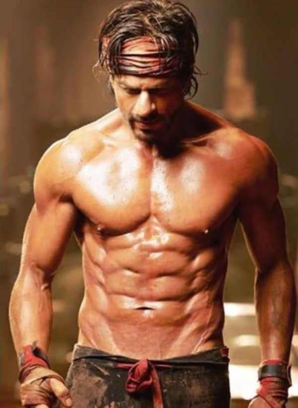 Shahrukh Khan Workout and Diet for Happy New Year