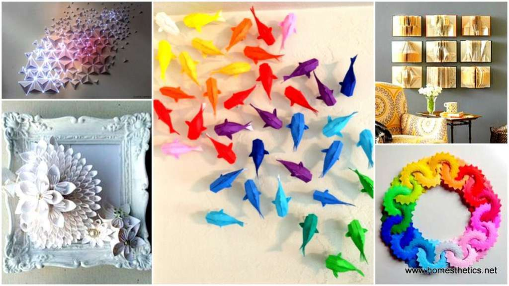 15 astonishingly creative diy recycled paper art ideas for Interesting recycling ideas