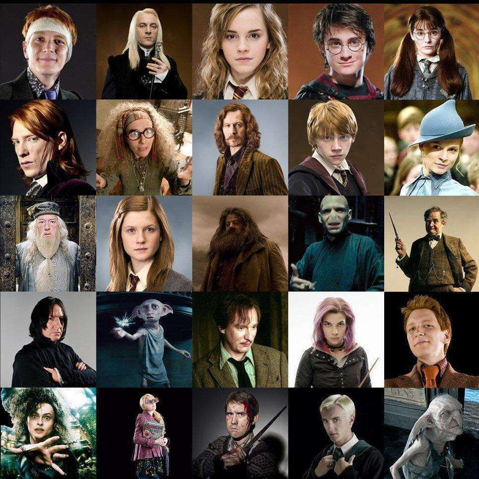 The Top Harry Potter Characters