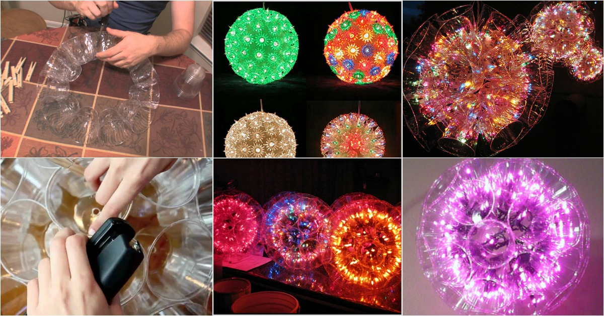 How To Build Amazing Sparkle Balls Out Of Plastic Cups