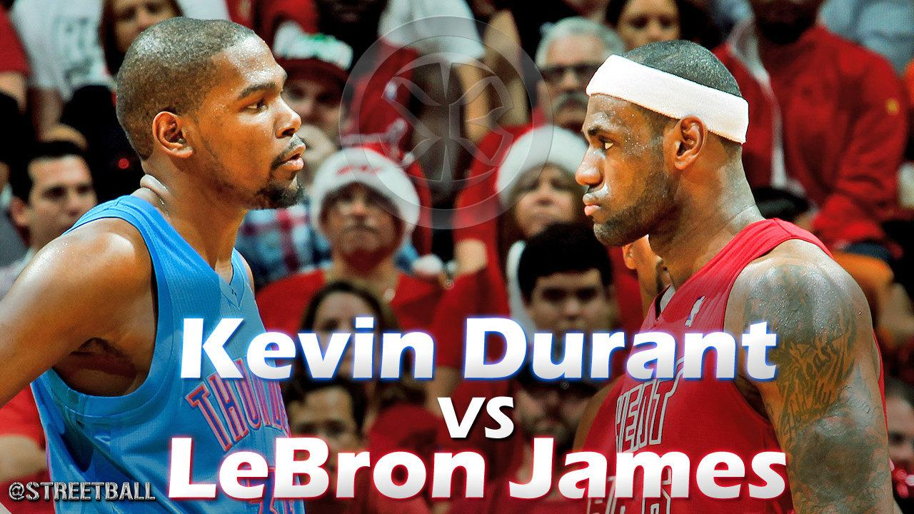 lebron james vs kevin durant in A lot gets made of the burgeoning individual rivalry between lebron james and kevin durant , and for good reason.
