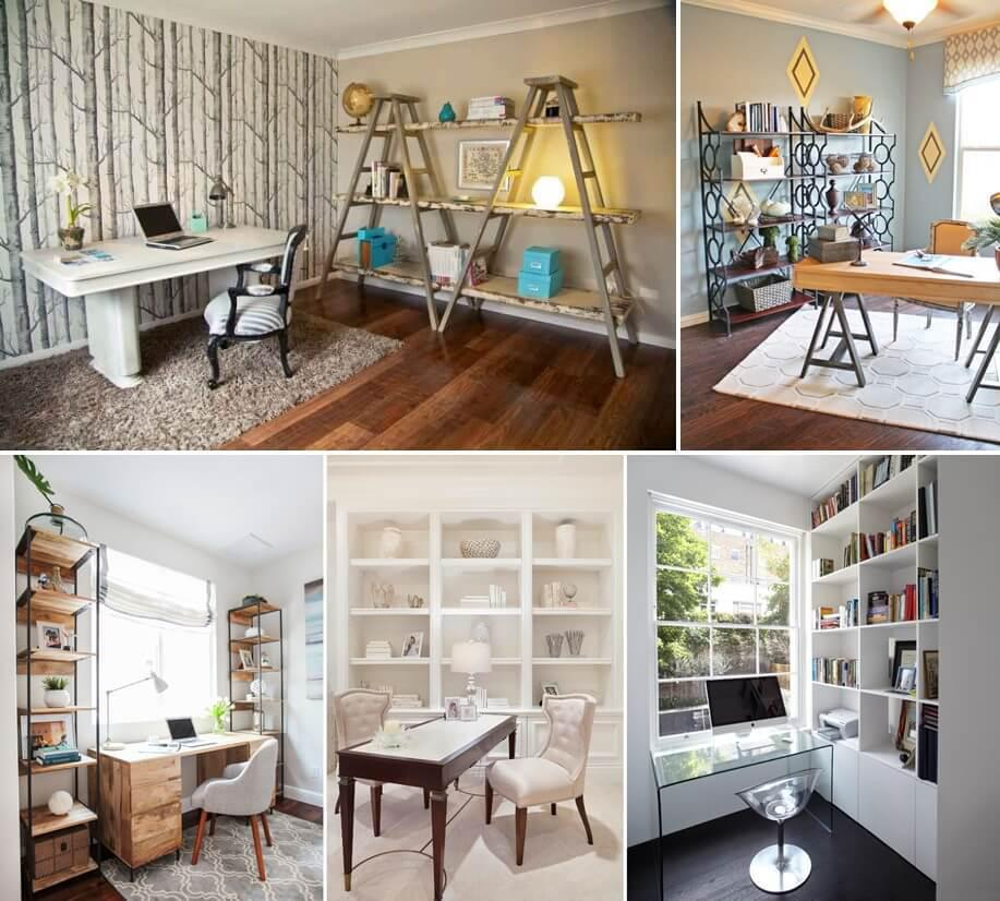 20 Awesome Shelving Design Ideas For Your Home Office