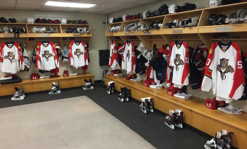 Florida Panthers Locker Room
