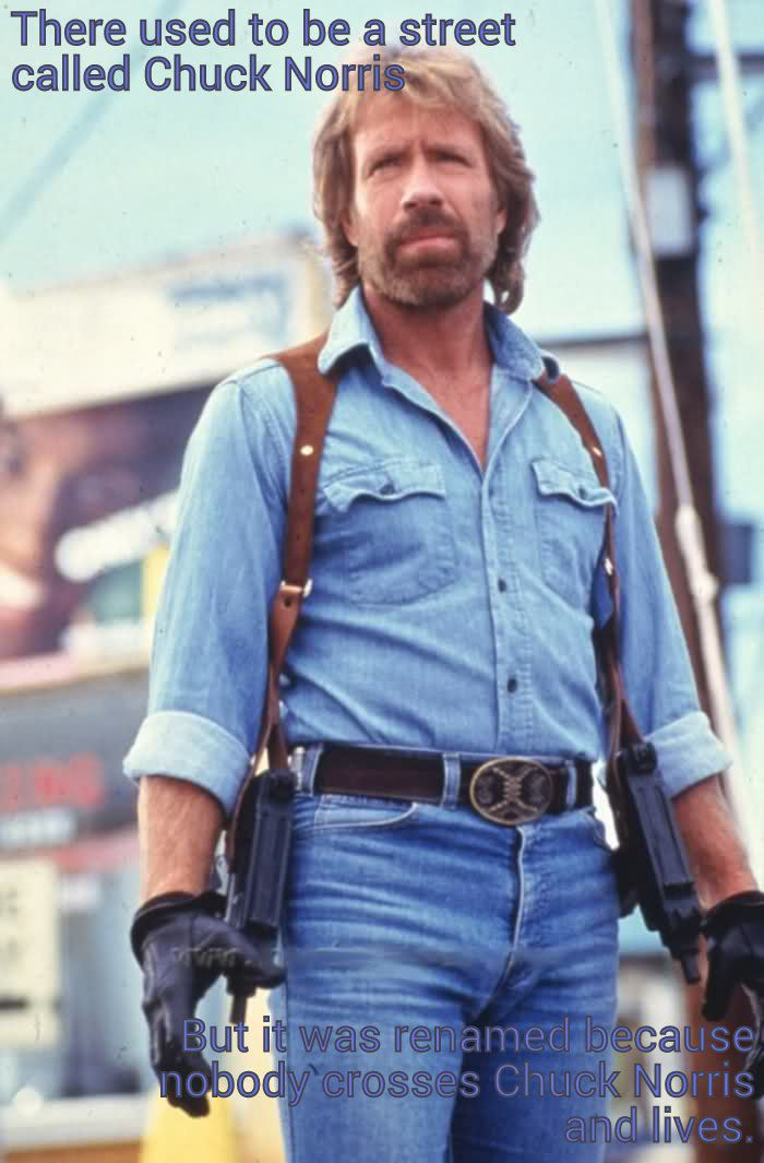 23 Chuck Norris Facts That Actually Broke The Internet