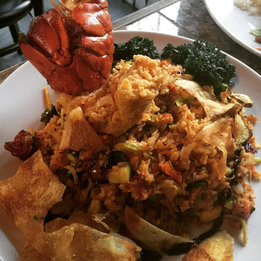 Lobster fried rice poorcalvins for Ada s fish fry