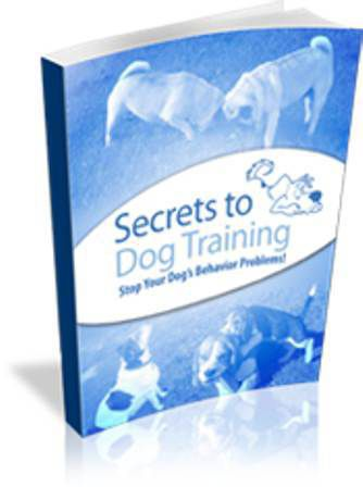 Secrets To Dog Training Book Free Download