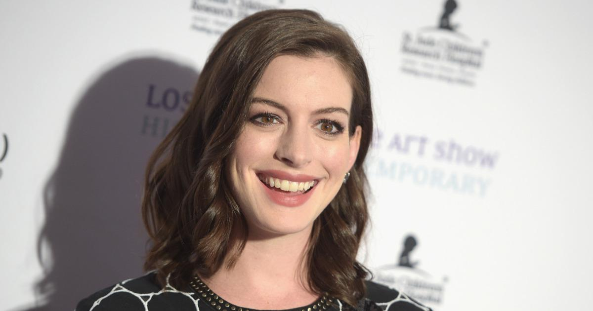 Anne Hathaway Is the Latest Celebrity to Become Part of ... Goodwill