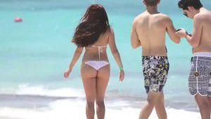 Ariel Winter - Bikini Beach Video From The Bahamas - 4/5/16 ...