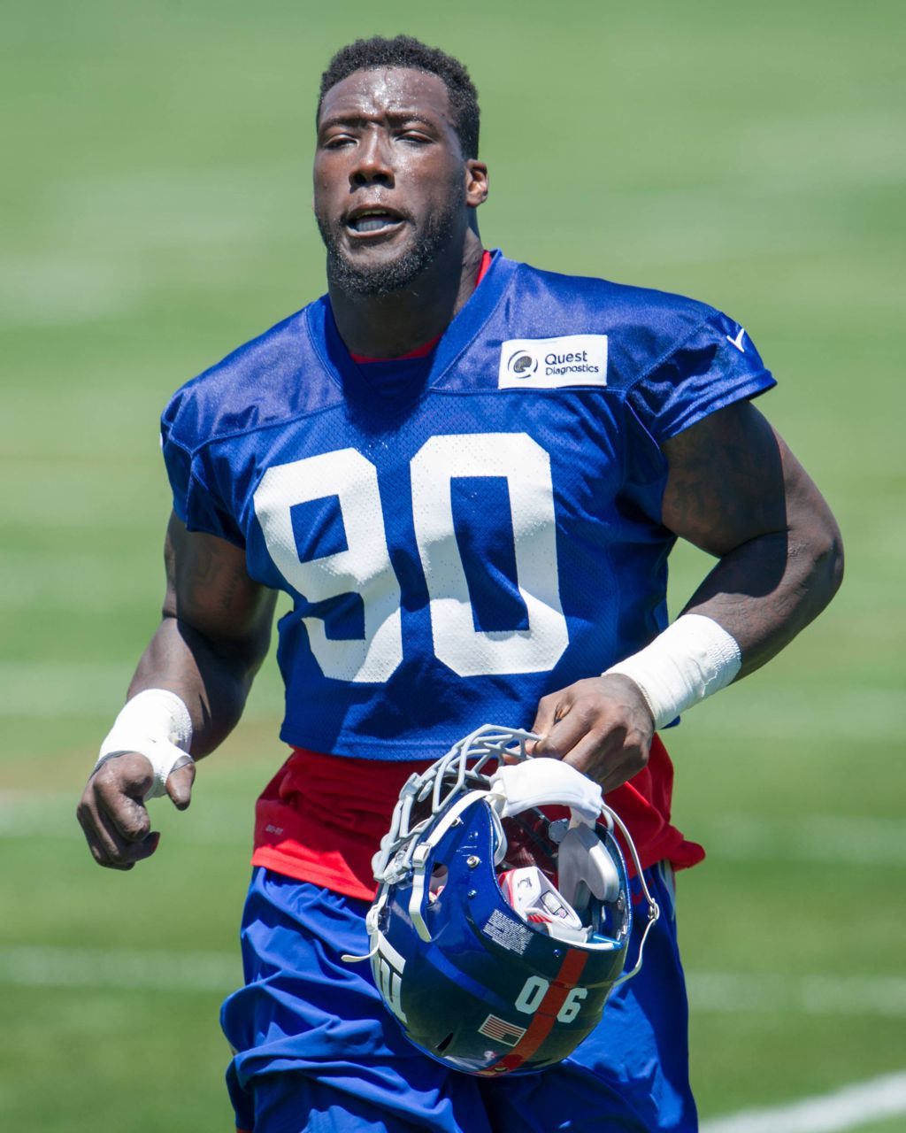 "Jason Pierre Paul Now: Jason Pierre-Paul Says Blown Off Hand Feels ""Great"""