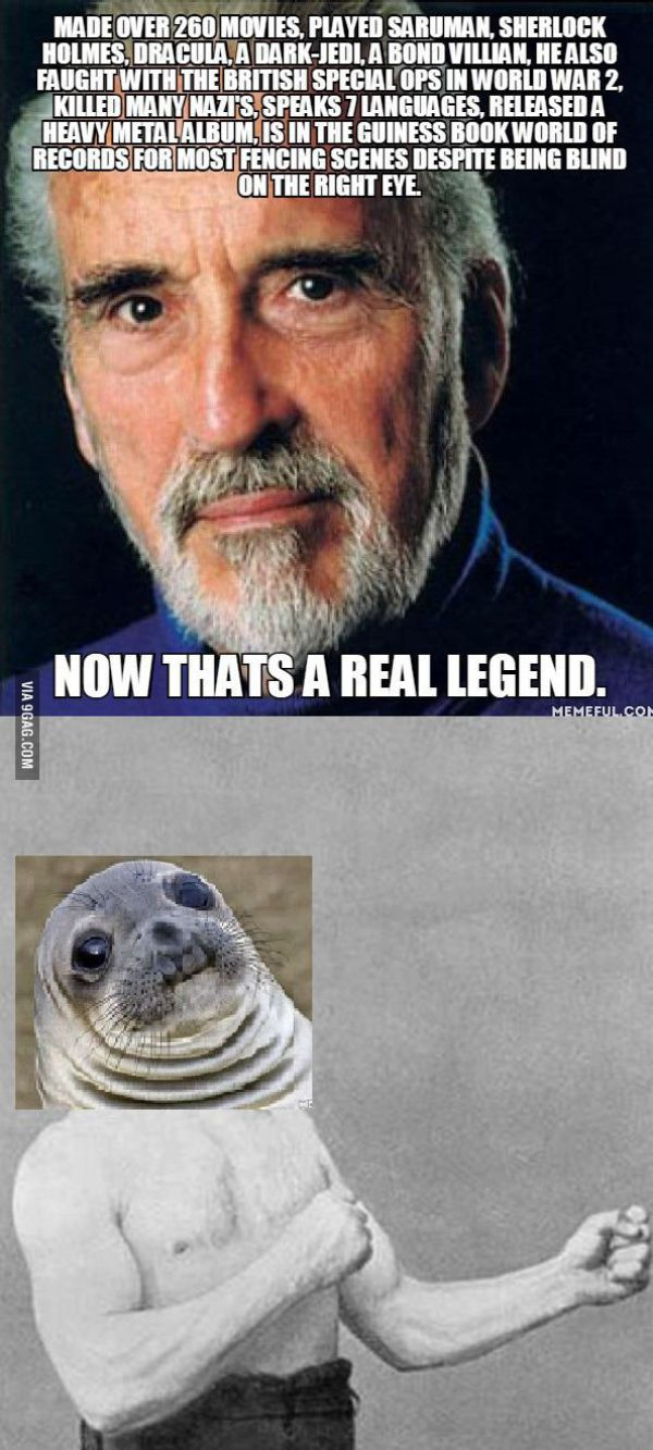 Christopher Lee is LEG...