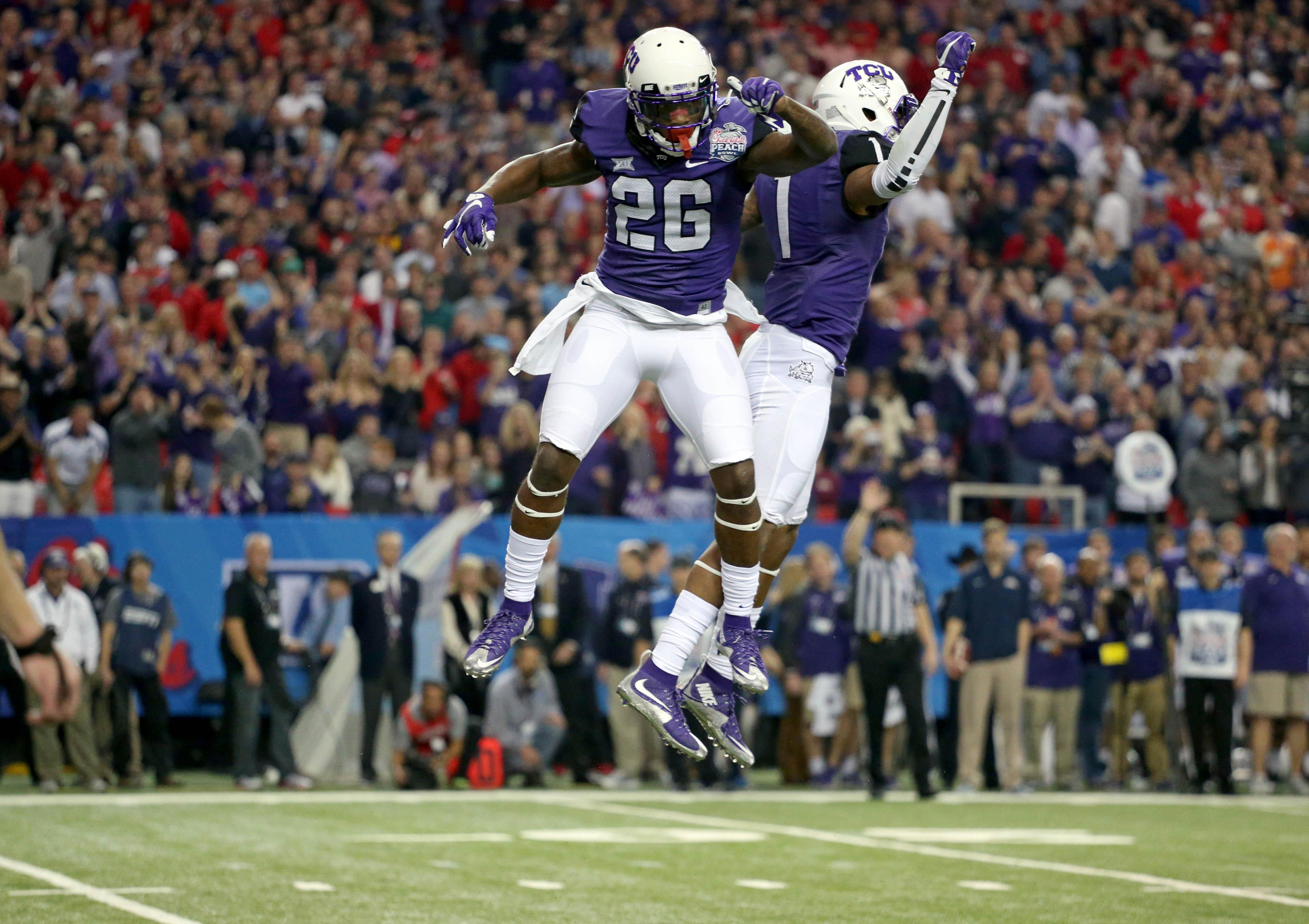 View the complete TCU Horned Frogs football team schedule on ESPNcom Includes home and away bye weeks bowl schedules and printable schedules
