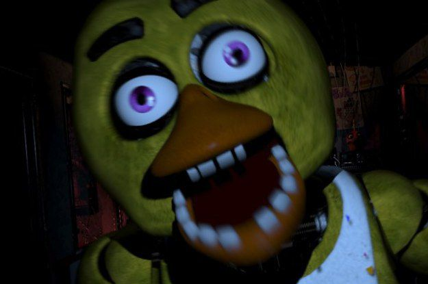 Nights at freddy s this one of the scariest game in the world i will