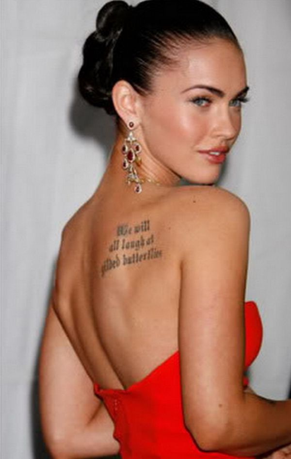 Megan Fox Naked, The Transformers Star Bares As Much As She Ever Will  Breakcom-7749