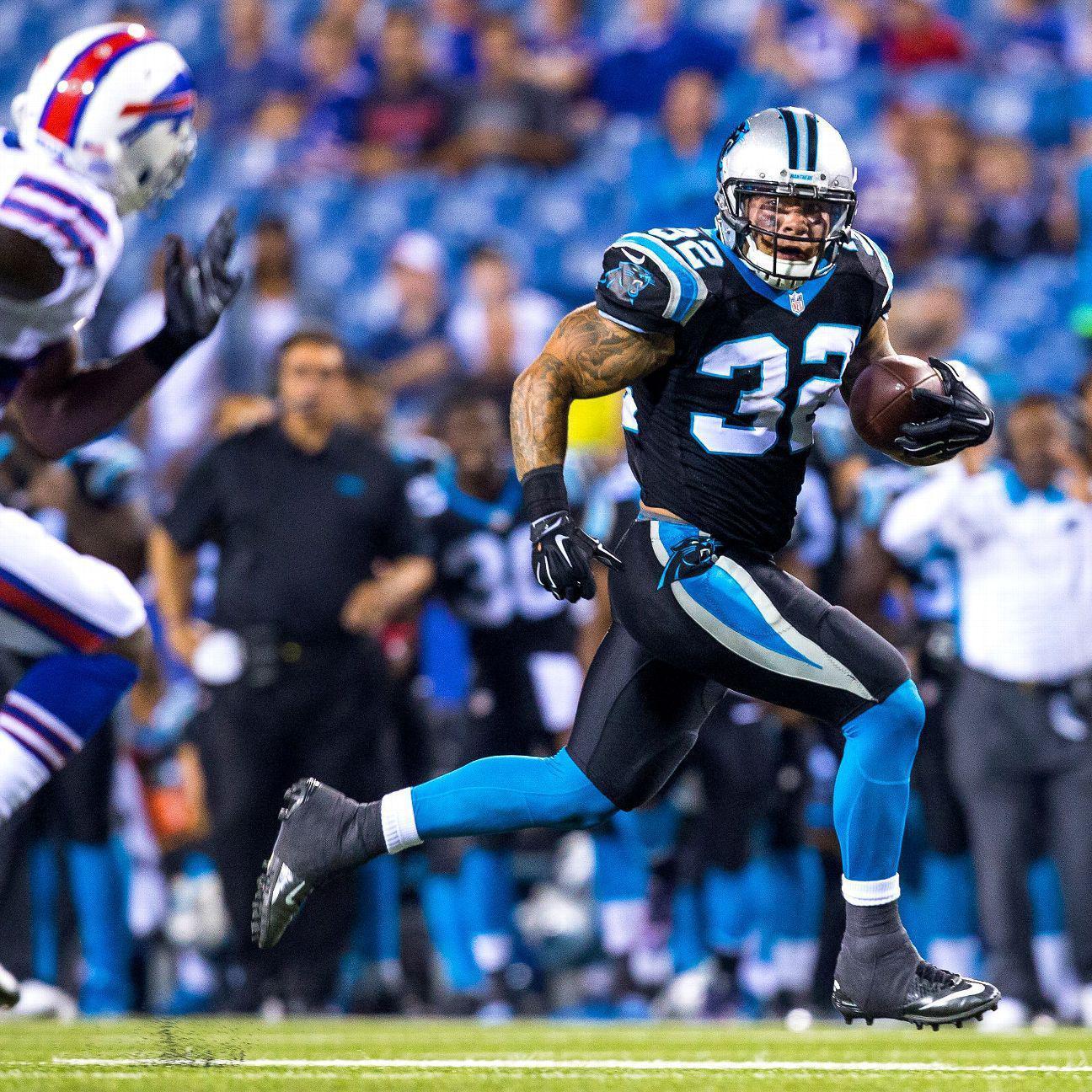 Running back Brandon Wegher beats odds, on Carolina ...