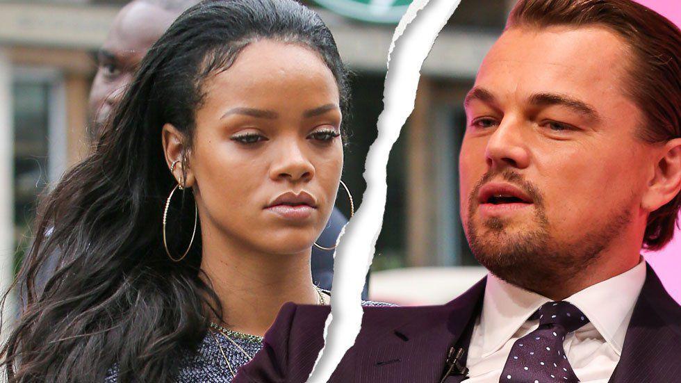 Rihanna and leonardo dicaprio are no more actor makes out with leggy