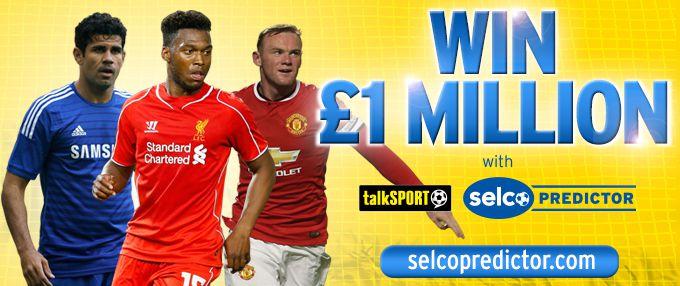 1MILLION Premier League predictor game | Selco Predictor