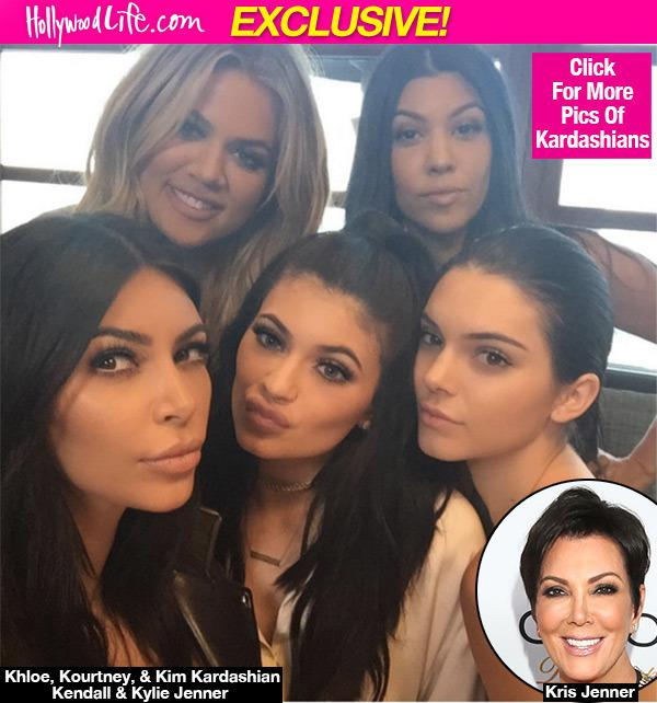 Kris Jenner Wants All The Kardashian Women To Pose Nude -1522
