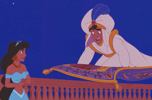 This Guy Recreated Aladdin S Magic Carpet Ride Using A