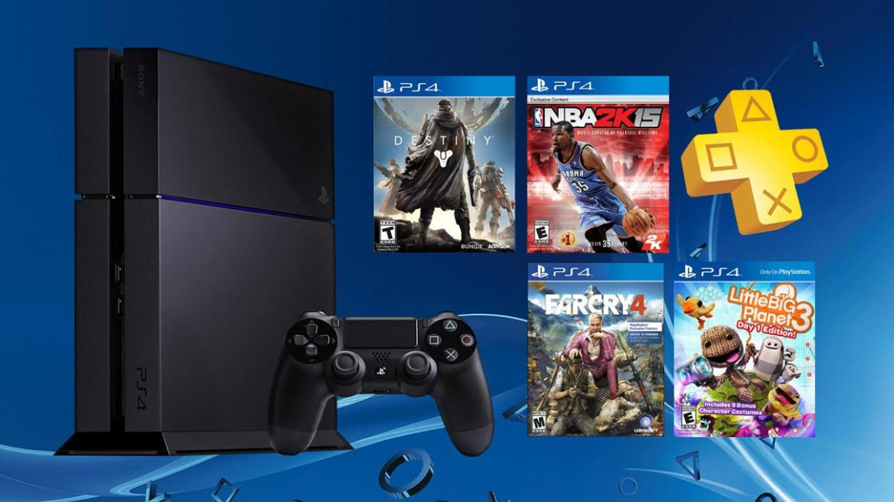 Daily Deals: PS4 With Six Months of Plus and Free Game, Buy One Get