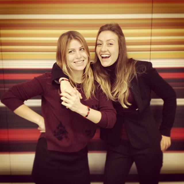 newest cca02 5317b Barbara e Eleonora Berlusconi con uno speciale braccialetto ...