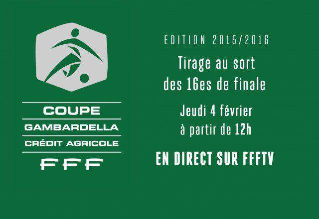 Le tirage des 16es de finale - Tirage au sort 16eme de finale coupe de france ...