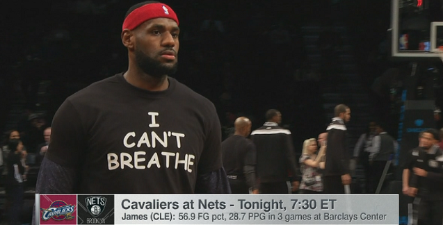 "LeBron James, Several Other NBA Players Wear ""I Can't ..."