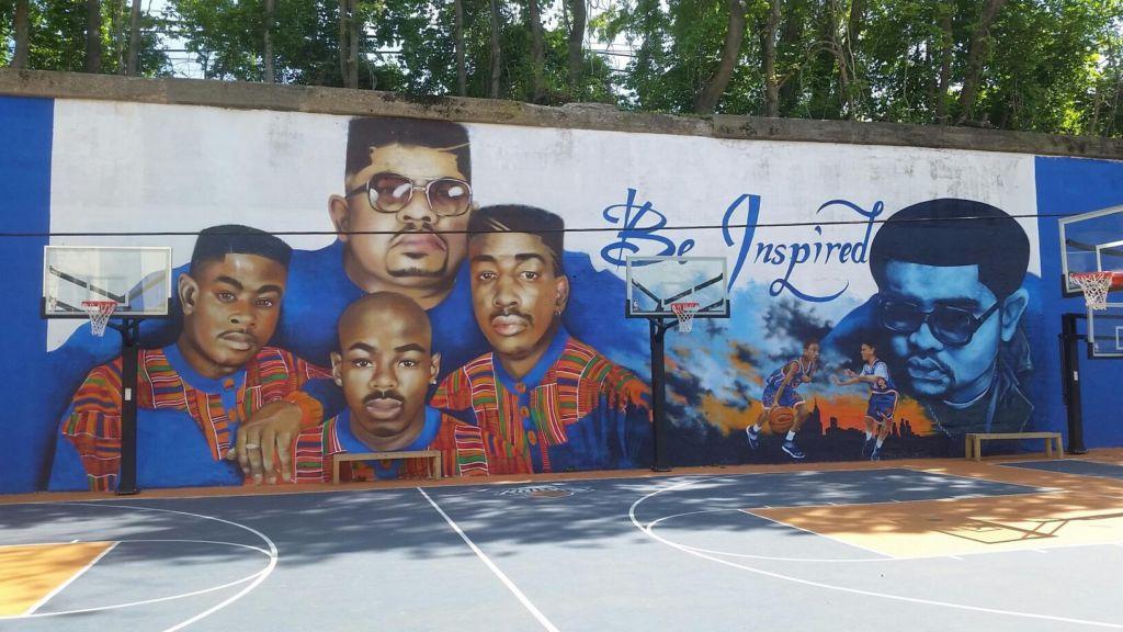 Bronx Artist Celebrates Heavy D And The Boyz With Vibrant