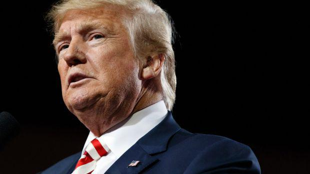Donald Trump says the Republican Party cannot make him quit