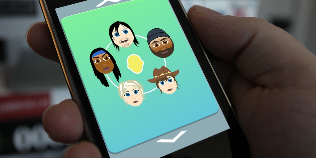 we built the walking dead emoji you always wanted