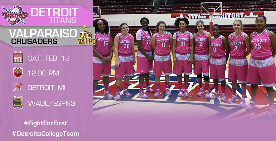 Women's Basketball Hosts Valparaiso for Pink Game