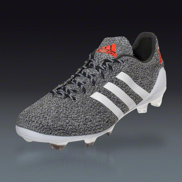 adidas F50 Primeknit FG - Silver/Running White Firm Ground ... Soccer Cleats
