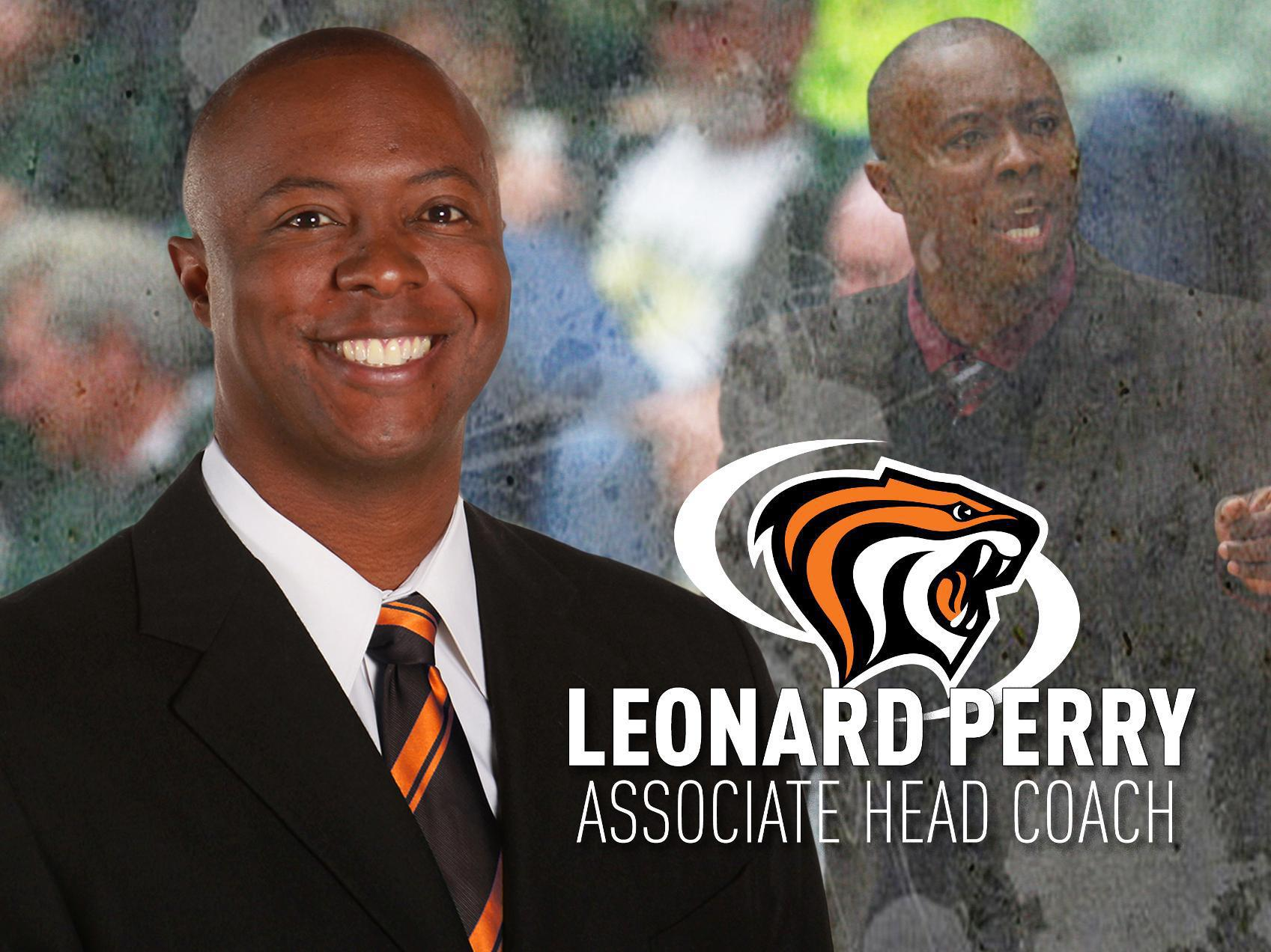 Leonard Perry Named Basketball's Associate Head Coach