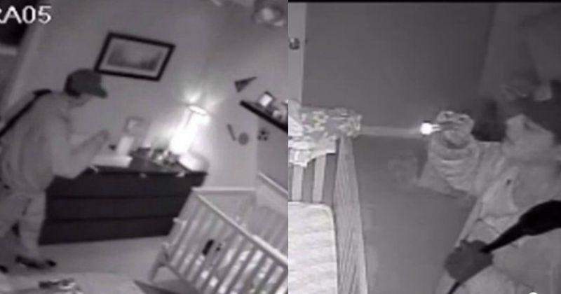 Mom Hears Creepy Music Playing In Baby's Room, Strange Man