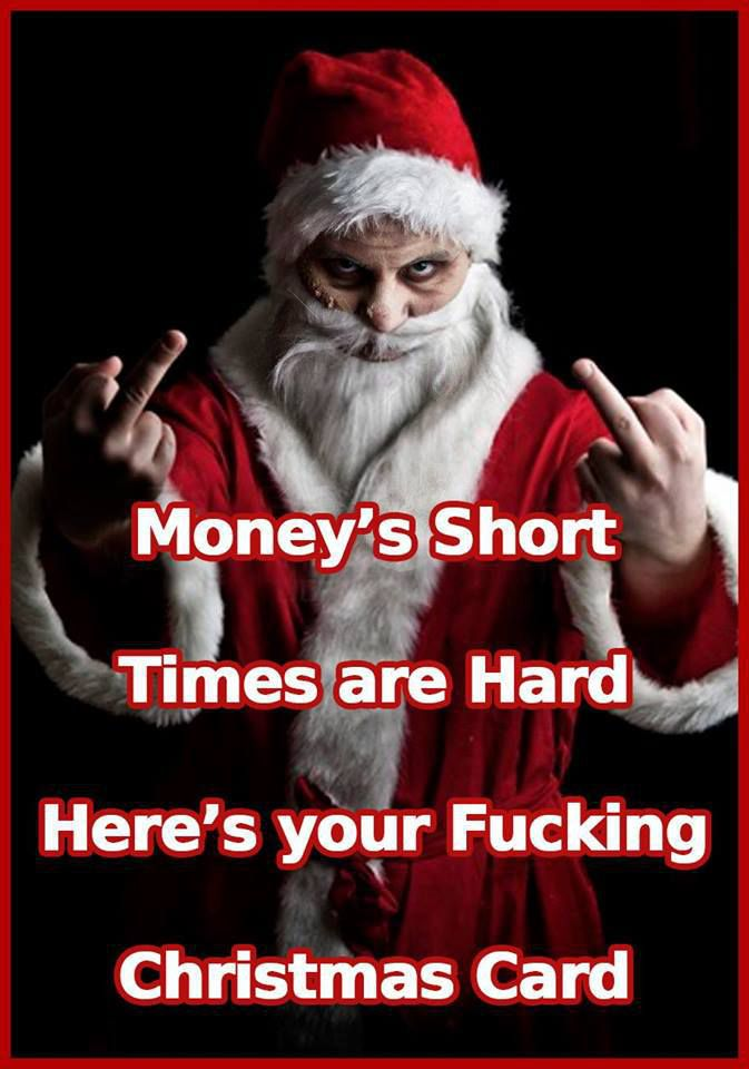 moneys short times are hard christmas card funny dirty adult jokes memes pictures