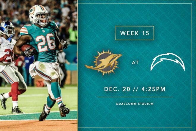 Tv Radio Lineup Dolphins At Chargers 12 20 15