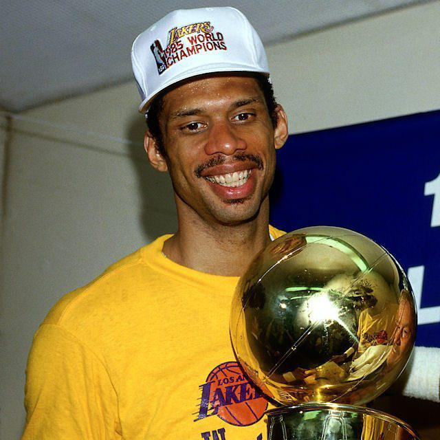 June 9, 1985: 38-year-old Kareem Abdul-Jabbar is unanimously voted the NBA Finals MVP after his ...