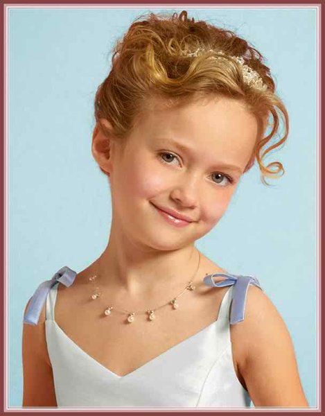 Enjoyable 2015 Trends Of Little Girl Wedding Hairstyles Hairstyle Inspiration Daily Dogsangcom