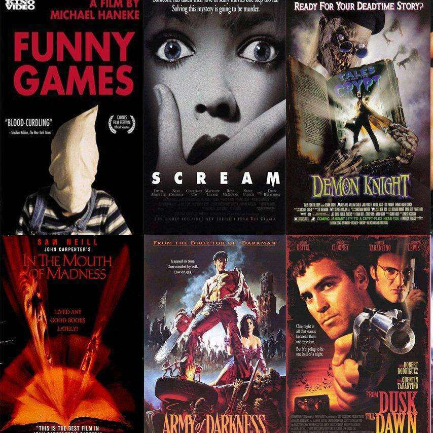 The Best 90s Horror Movies