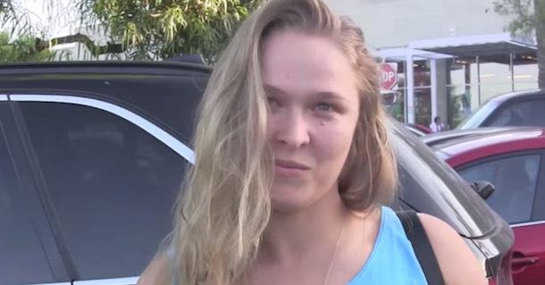 Ronda Rousey Accepts Marine Corps Ball Invitation...IF ...