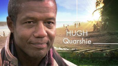 hugh quarshie american express