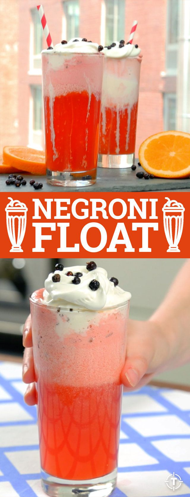 The negroni float a classic aperitif turned diner treat for Classic aperitif